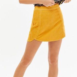 Pacsun Corduroy Tulip miniskirt